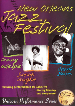 NEW ORLEANS JAZZ FESTIVAL 1969 - DVD