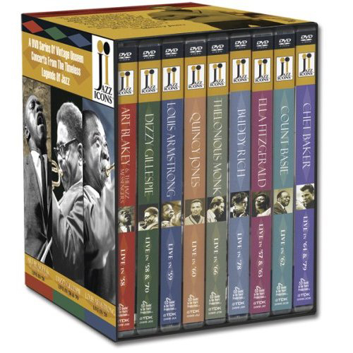 JAZZ ICONS BOXED DVD SET