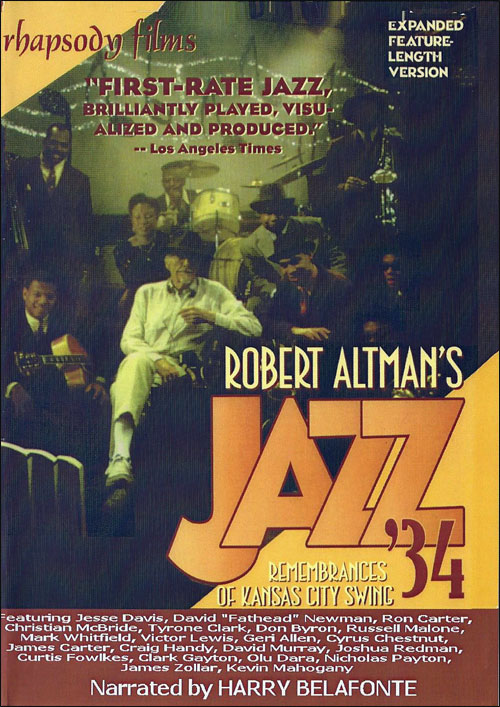 Robert Altman's Jazz '34 - Remembrances of Kansas City Swing - DVD