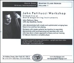 Bassist John Patitucci DVD