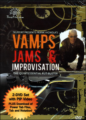 Vamps, Jams & Improvisation The Quintessential Rut-Buster - DVD