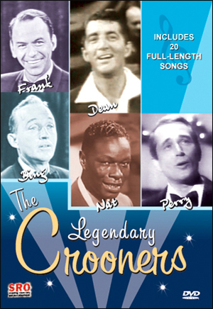 THE LEGENDARY CROONERS DVD