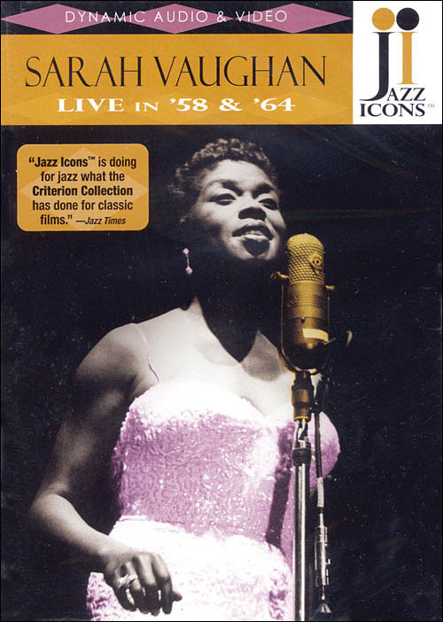 Jazz Icons: Sarah Vaughan – Live in '58 and '64 - DVD