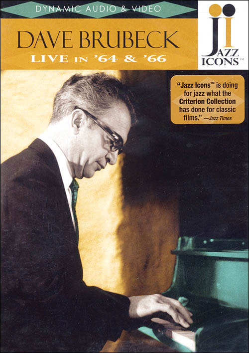 Jazz Icons: Dave Brubeck – Live in '64 and '66 - DVD