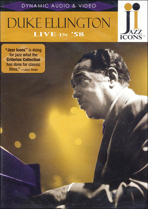 Jazz Icons: Duke Ellington – Live in '58 - DVD