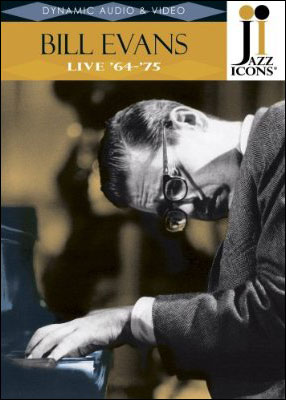 Jazz Icons:  Bill Evans – Live '64-'75 - DVD