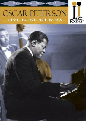 Jazz Icons: Oscar Peterson – Live in '63, '64 & '65 - DVD