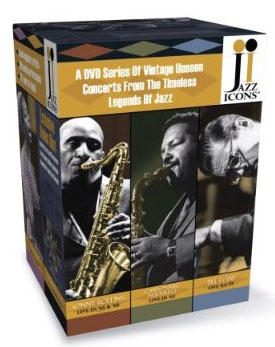 Jazz Icons 3 Boxed DVD Set