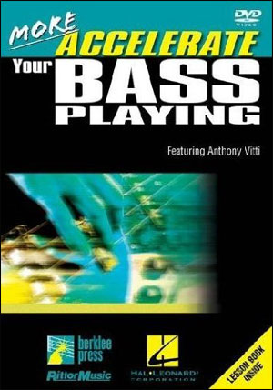 More Accelerate Your Bass Playing - DVD