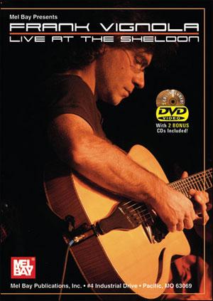 FRANK VIGNOLA LIVE AT THE SHELDON - DVD