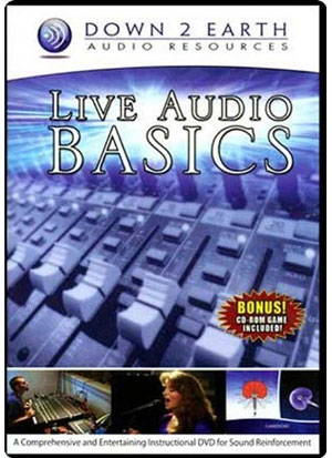 LIVE AUDIO BASICS DVD