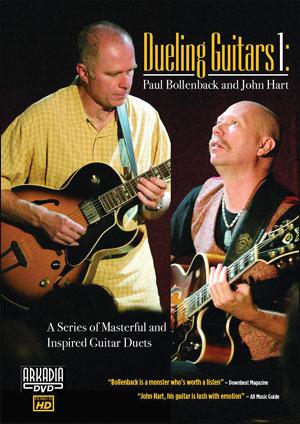 Dueling Guitars 1 – Paul Bollenback & John Hart - DVD