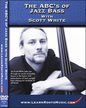THE ABC'S OF JAZZ BASS WITH SCOTT WHITE - DVD