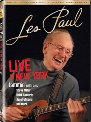 LES PAUL - LIVE IN NEW YORK - DVD
