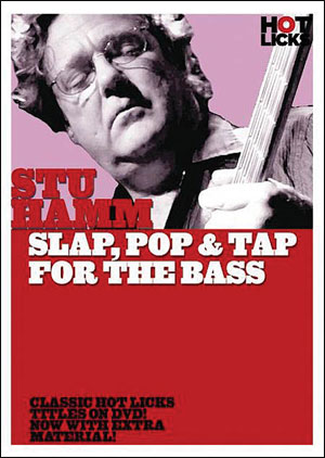 Stu Hamm – Slap, Pop & Tap for the Bass - DVD