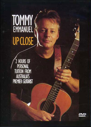 TOMMY EMMANUEL - UP CLOSE DVD