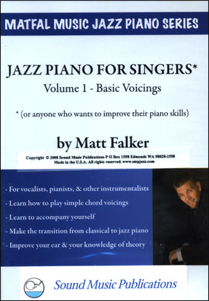 JAZZ PIANO FOR SINGERS DVD