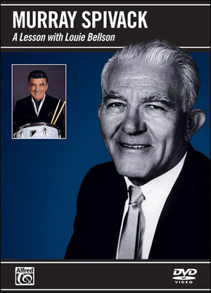 MURRAY SPIVACK: A LESSON WITH LOUIE BELLSON - DVD