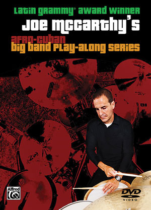 JOE MCCARTHY'S AFRO-CUBAN BIG BAND PLAY-ALONG SERIES DVD