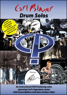 CARL PALMER - DRUM SOLOS - DVD