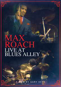 MAX ROACH - LIVE AT BLUES ALLEY - DVD