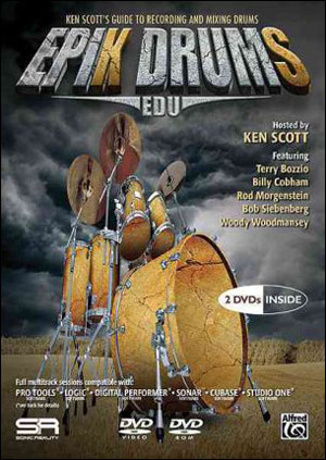 EpiK DrumS EDU - 2 DVDs