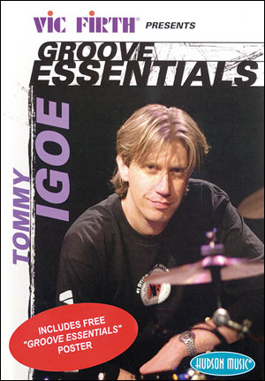 TOMMY IGOE - GROOVE ESSENTIALS 1.0 - DVD