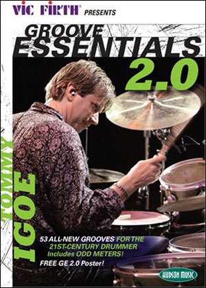 TOMMY IGOE - GROOVE ESSENTIALS 2.0 - DVD