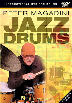 JAZZ DRUMS - PETER MAGADINI - DVD