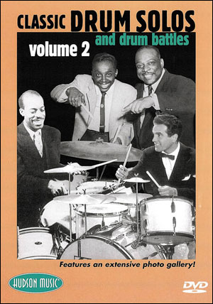 CLASSIC DRUM SOLOS AND DRUM BATTLES VOL. 2 -DVD