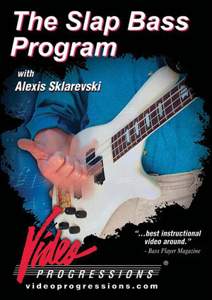 THE SLAP BASS PROGRAM - DVD
