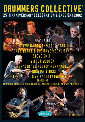 DRUMMERS COLLECTIVE - 25TH ANNIVERSARY CELEBRATION & BASS DAY 2002 - DVD