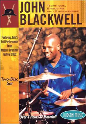 JOHN BLACKWELL - TECHNIQUE, GROOVING AND SHOWMANSHIP - DVD
