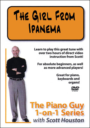 The Piano Guy 1-on-1 Series – The Girl from Ipanema - DVD
