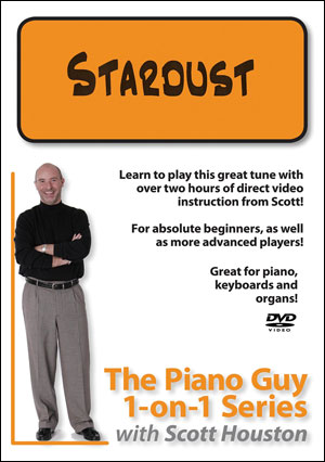 The Piano Guy 1-on-1 Series – Stardust - DVD