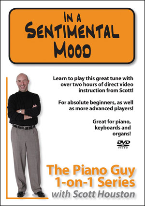 The Piano Guy 1-on-1 Series – In a Sentimental Mood - DVD
