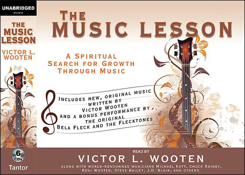THE MUSIC LESSON - AUDIO BOOK (6 CDs)
