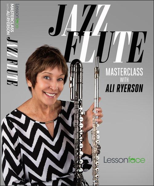 Jazz Flute Masterclass with Ali Ryerson - DVD
