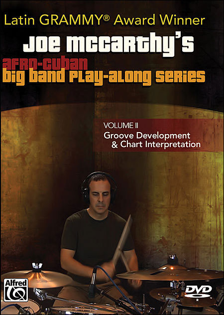 Joe McCarthy's Afro-Cuban Big Band Play-Along Series - DVD