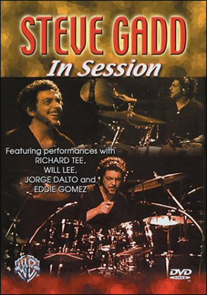STEVE GADD - IN SESSION DVD