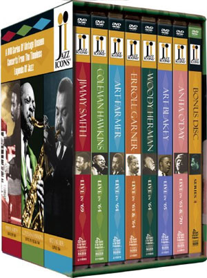 JAZZ ICONS #4 BOXED SET DVD