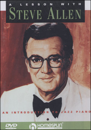 A Lesson with Steve Allen:  An Introduction to Jazz Piano - DVD