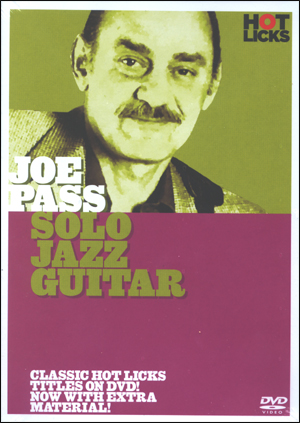 SOLO JAZZ GUIT- J PASS DVD