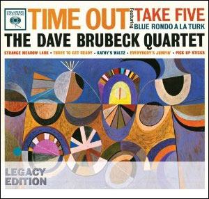 DAVE BRUBECK - TIME OUT DVD/CD