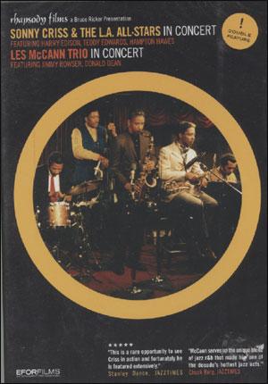 SONNY CRISS & LES MCCANN DVD