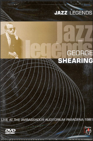 GEORGE SHEARING-JAZZ LEGEND