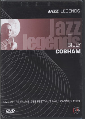 BILLY COBHAM -JAZZ LEGENDS DVD