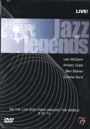 JAZZ LEGNDS LIVE VOL.2 DVD