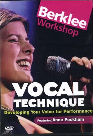 VOCAL TECHNIQUE -DVD