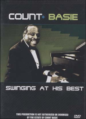COUNT BASIE SWINGING AT HIS BEST - DVD